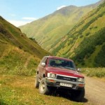 Toyota 4Runner for rent Tbilisi
