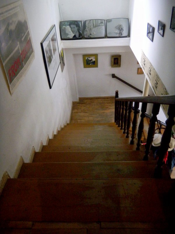Art Pension Murtazi - Treppe