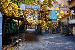 Herbst in Tbilissi by Mike Bourgault