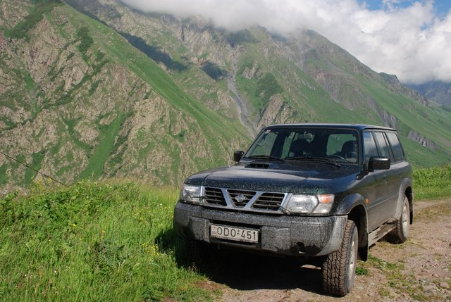 4x4 4WD Offroad in Georgien