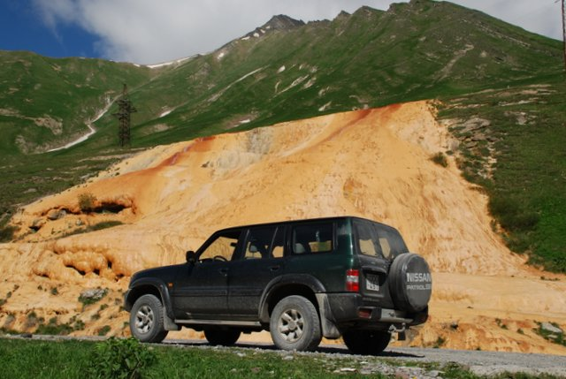 Offroad in Georgien