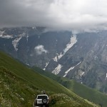 Landschaft in Georgien Foto: stllc