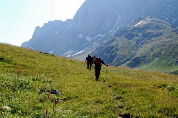 Trekking in Georgien