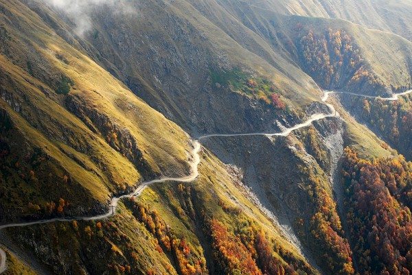 Road in Tusheti