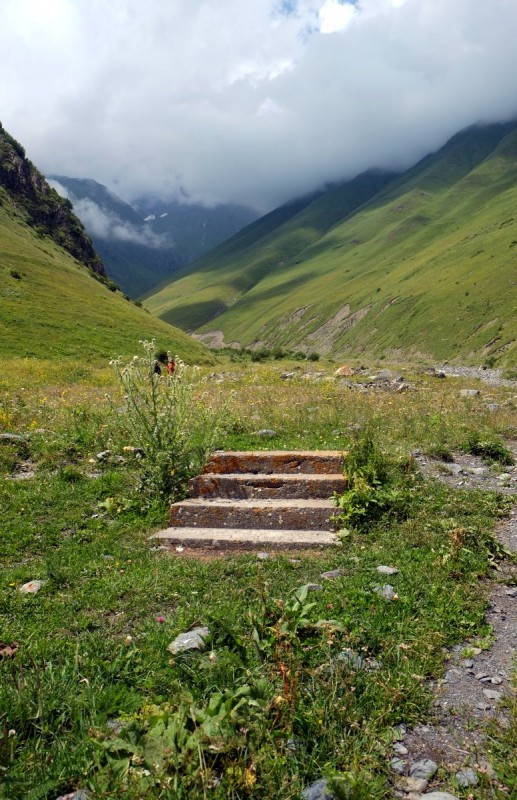 Stairs to nowhere, Khevsureti