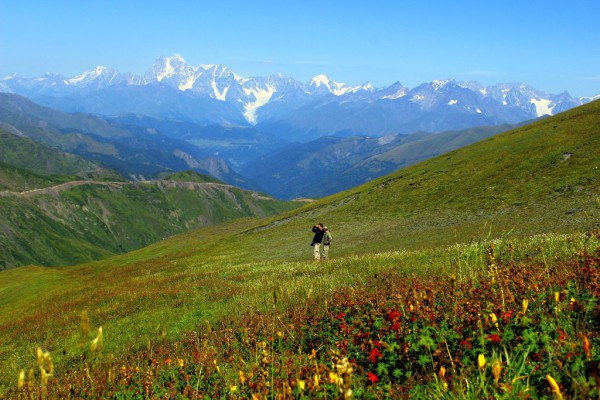 Wanderreise im Oberen Swanetien Hiking trip in  Svaneti - crown of the Caucasus