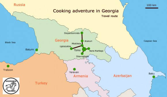 Cooking adventure Georgia
